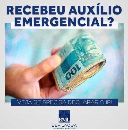 Recebeu o Auxílio Emergencial? Veja se Precisa Declarar o Imposto de Renda