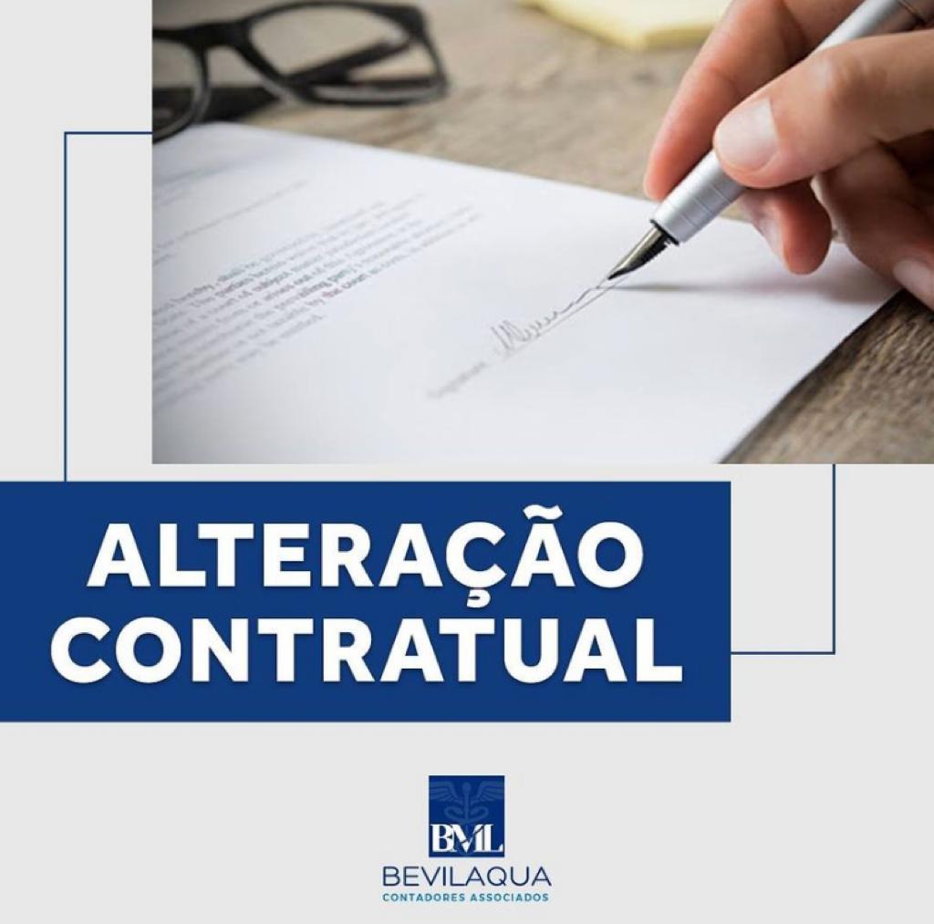 Alteração Contratual