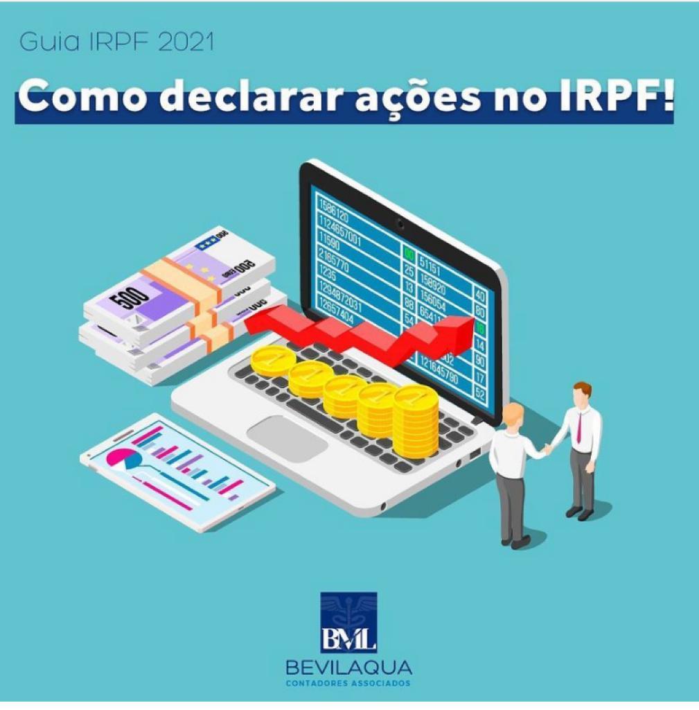 Como declarar ações no IRPF